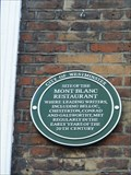 Image for Mont Blanc Restaurant - 16 Gerrard Street, London, UK