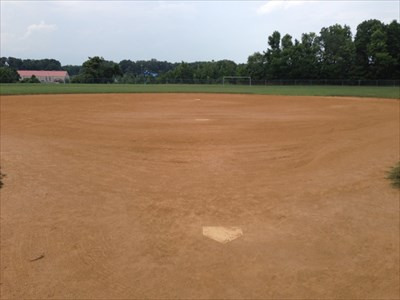 Catchers View of the Field, Falmouth, Virginia