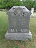 Image for E.W. Asbury - Keenan Cemetery - Farmers Branch, TX