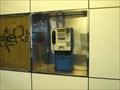 Image for Payphone / Telefoní automat - vestibul stanice metra Rajská zahrada - východní  cást ,Praha 9, CZ
