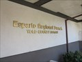 Image for Esparto Regional Library - Esparto, CA
