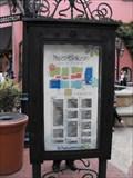 Image for Paseo Nuevo courtyard map - Santa Barbara, California