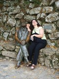 """Image for Gaudí sitting by his """"Capricho"""""""