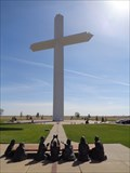 Image for America's Largest Cross - Satellite Oddity - Groom, Texas. USA.