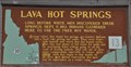 Image for Lava Hot Springs