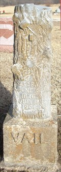 Image for Isaac Vail - Mount Pleasant Cemetery - Shawnee County, Ks