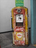 Image for Shell pump, Cameron's pub - Half Moon Bay, California