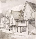 "Image for ""Old Sun Inn, Saffron Walden"" by William Palmer Robins – Old Sun Inn, Church St, Saffron Walden, Essex, UK"