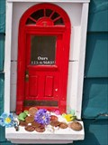 Image for Red Shoes Fairy Door - Ann Arbor, Michigan