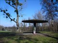 "Image for Mushroom shaped weather shelter (""Wetterpilz"") at Beethovenpark - Cologne, Germany"