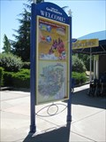 "Image for ""You are here"" (right side of entrance) - California's Great America - Santa Clara, CA"