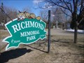 Image for Richmond Memorial Park & Cenotaph - Richmond, Ontario