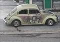 Image for Spray painted WV Bug - Sao Paulo, Brazil