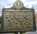 Image for Cumberland College - 1837 - Williamsburg, KY