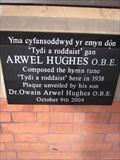 Image for Arwel Hughes O.B.E - Train Station, Shrewsbury, Shropshire, England, UK