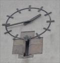 Image for Uhr / Clock St. Briccius Kirche Wurmlingen, Germany, BW