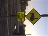 Image for Farm Equipment Crossing Sign-Hughson, Ca
