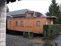 Image for Oregon Electric & Eastern Caboose at the Oregon Electic Station, Eugene Oregon