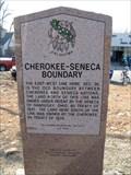 Image for Cherokee - Seneca Boundary OK