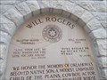Image for Will Rogers - Claremore, OK