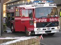 Image for Fire at The Swan with Two Nicks - High Street, Sharnbrook, Bedfordshire, UK