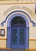 Image for Provincial Hotel Doorway. Napier. New Zealand.