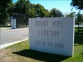 Image for Mount Hope Cemetery - San Diego, CA USA