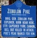 Image for Zebulon Pike - Trenton, New Jersey