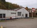 Image for abandoned Gulf station - Amsterdam, Ohio