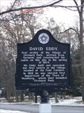 Image for Homestead of David Eddy, the first settler in the Village of Orchard Park, New York