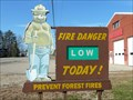Image for West Ossipee Fire Dept. Central Station Smokey - West Ossipee, NH