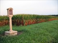 Image for Abraham Lincoln - Eighth Judicial District County (Vermilion / Edgar Counties) Line Marker - Ridge Farm, IL