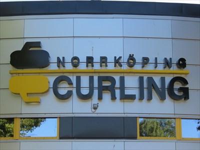 Norrköping Curling Club, Logo on Front, Norrköping, Sweden