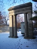 Image for Doric Entry Portal - University of Michigan Campus