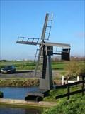 "Image for Windmill ""De Meent"" = weidemolen, Langerak, Netherlands."