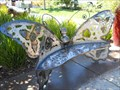 Image for Butterfly bench -- Roseville CA