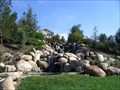 Image for Temecula, CA: Redhawk Golf Course (man-made) waterfall