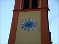 Image for Uhr Pfarrkirche Telfs, Tirol, Austria