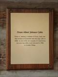 Image for The Orson Albert Johnson Cabin