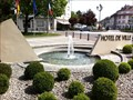 Image for Fountain at the Town Hall - Huningue, Alsace, France