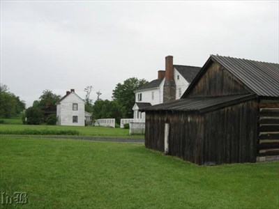 One of the cadets was killed at the Bushong House where the Union had set up their main line.