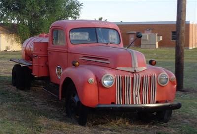 Mini Gas Tanker  - Route 66 - McLean, Texas,