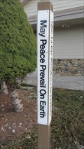 Image for St. Luke's Episcopal Church Peace Pole - Libby, MT