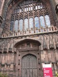 Image for Chester Cathedral Doorway, St Werburgh Street, Chester, Cheshire, Wales, UK