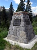 Image for Icefield Parkway Monument, Banff Natl Park, Canada