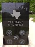 Image for Veterans Memorial - Dublin, Texas