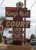 Image for Kings Rest Court - Neon - Santa Fe, New Mexico, USA.