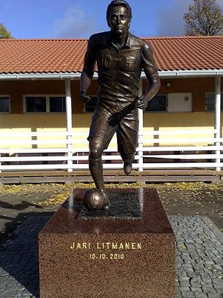 Litmanen is referred as a king of soccer in Finland.