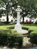Image for Irish Limestone Celtic Cross - Emmet Park - Savannah, GA