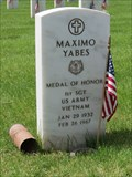 Image for Recipient of Medal of Honor - Maximo Yabes, First Sergeant - Denver, CO